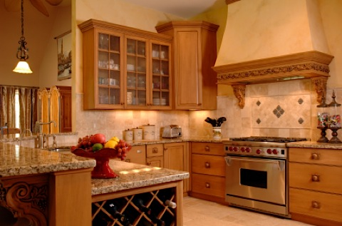kitchen for luxury detached townhome twin cities